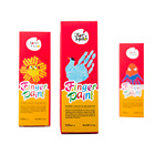 20 Colors non toxic kids playing artist graffiti washable acrylic Finger paint pigment set for children