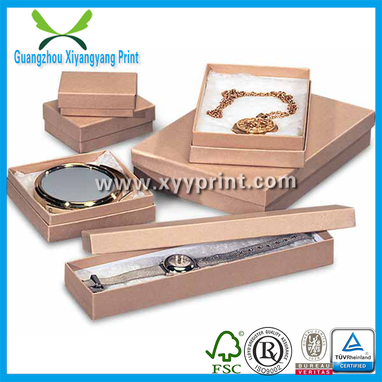 Custom Matte Manila Black Gift Craft Box, Cardsboard Sliding Goft Box