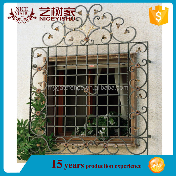 Wrought Iron Window Grills Grill Design 7