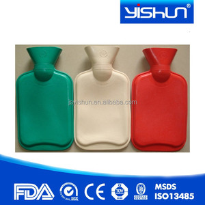 Colorful Hot Water Heat Bottle Rubber Warmer Bag