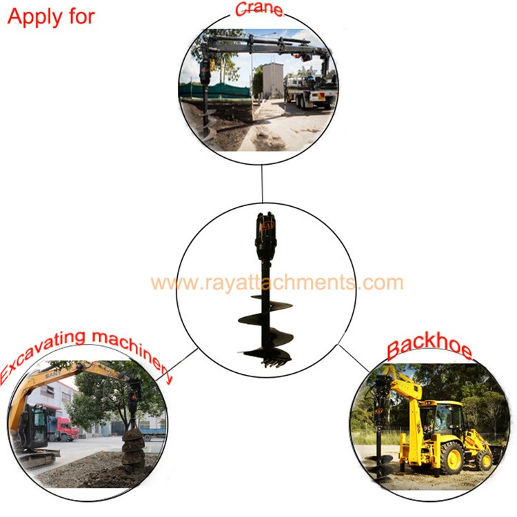 Professional gardening tools for excavator to dig holes for Professional gardening tools