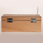 New product factory price wood tea storage organizer box