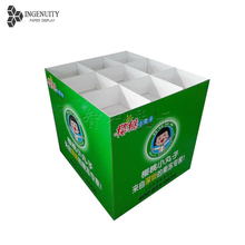 Factory price brilliant high quality retail shop product display, promotion counter pallet display