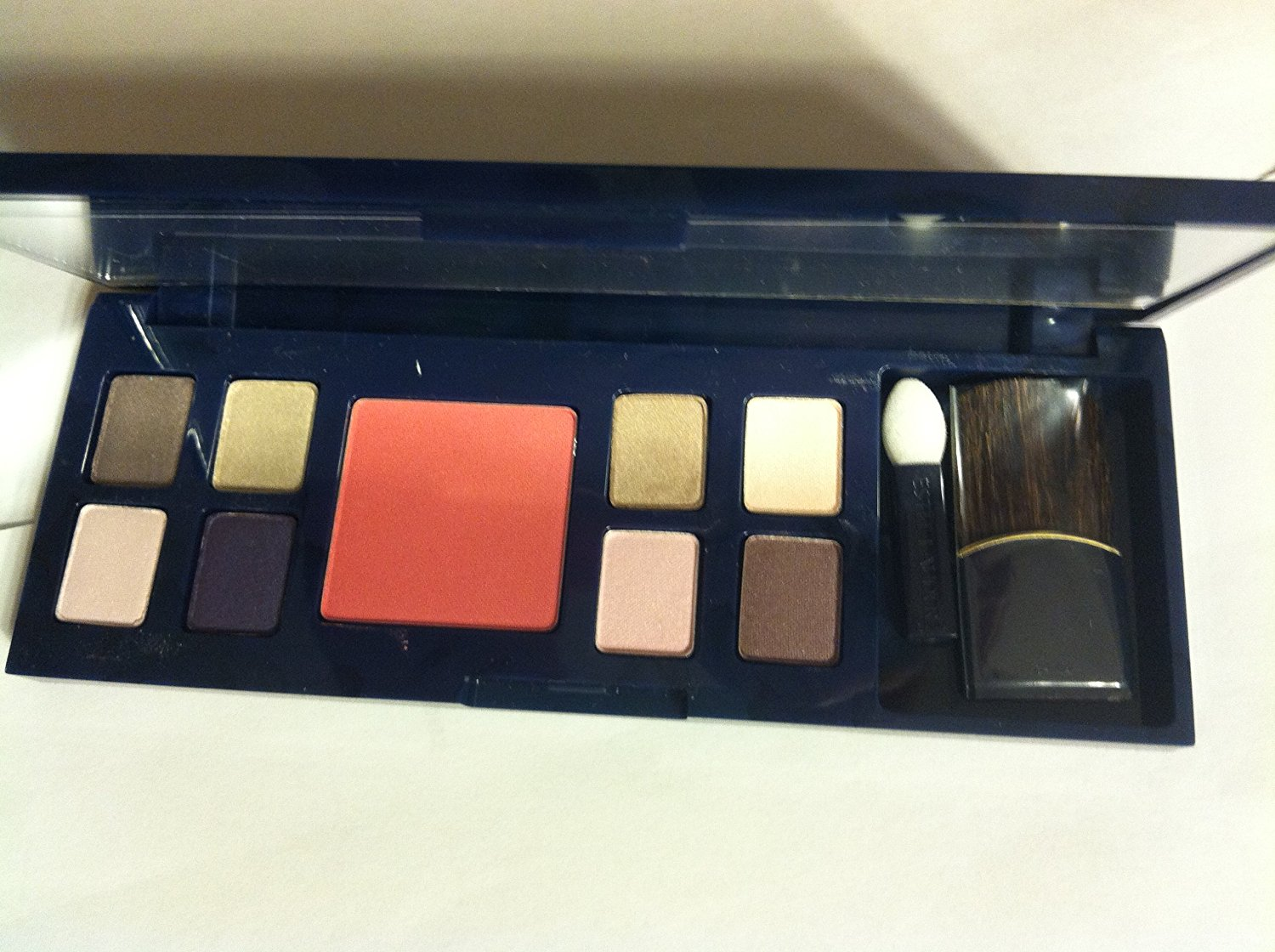 Estee Lauder Pure Color Eyeshadow (8 Color) and Pure Color Blush: 72 Amazing Grey +01 Pink Flash +43 Polished Platinum +09 Amethyst Spark + 18 Sepia Sand +10 Ivory Slipper +Pure Color Eyeshadow Duo 11 Shells (0.01 Oz/0.35 G Each)+pure Color Blus 02 Pink Kiss (0.09 Oz/2.5g)