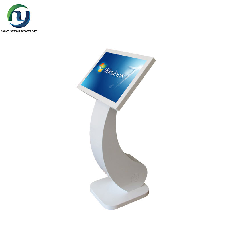 42 inch Free standing interact informaiton Touch Screen kiosk