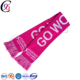 Chengxing new style cheap wholesale hockey club knitted custom factory china fashionable scarf
