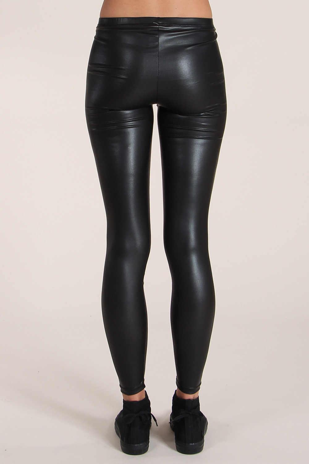 Fashion Tight Black Leather Pants For Women - Buy Tight ...