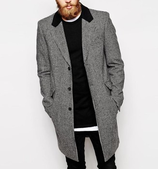 Mens Long Wool Coat 2015 New Look - Buy Mens Winter Coats,Men Wool ...
