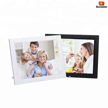 "1280*800 13"" LCD Screen Remote Control Digital Photo Frame Business Advertising Player"