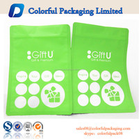 Laminated plastic bags 1kg custom printed zip lock clear seal bags zipper