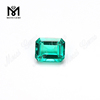 Emerald Cut Hydrothermal Synthetic Colombian Emeralds Price For Sale