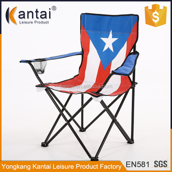 Outdoor Flag Camping Chair/american Flag Chair/printing Folding Camping  Chair