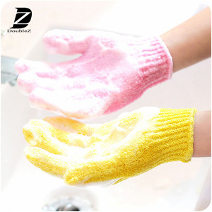 Promotional exfoliating bath gloves/Baby Bath Gloves