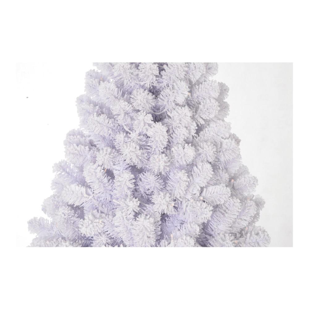 לבן מראש דולק שלג חג המולד עץ מלאכותי עץ חג המולד עבור פסטיבל