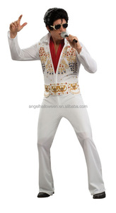 Unique Design Custom Elvis Rock Star Costume For Party Fancy Dress costume AGM289