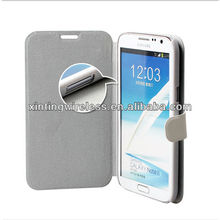 For Samsung galaxy note2 N7100 flip design leather case cover