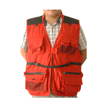 China Hottest multi pocket men's casual photographer vest jackets