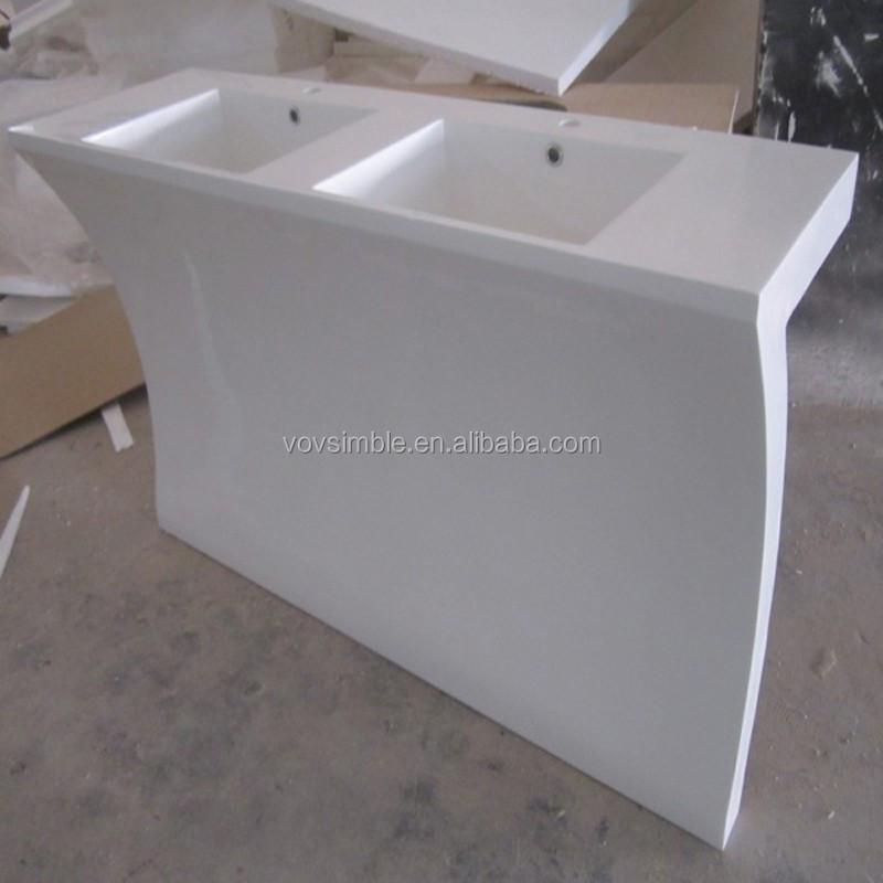 promoting modern acrylic solid surface wash basin bathroom sink buy