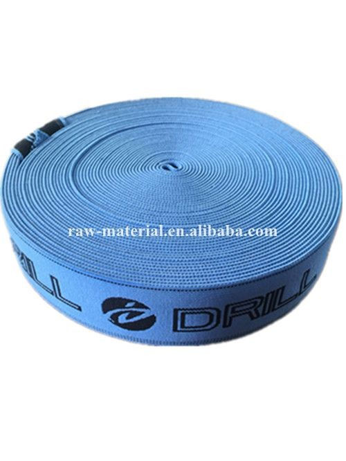 High Quality Tenacity Customized colored knit elastic band tapes for clothes