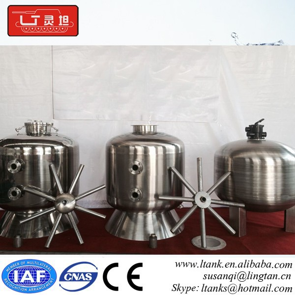 China SS Type filter swimming pool equipment