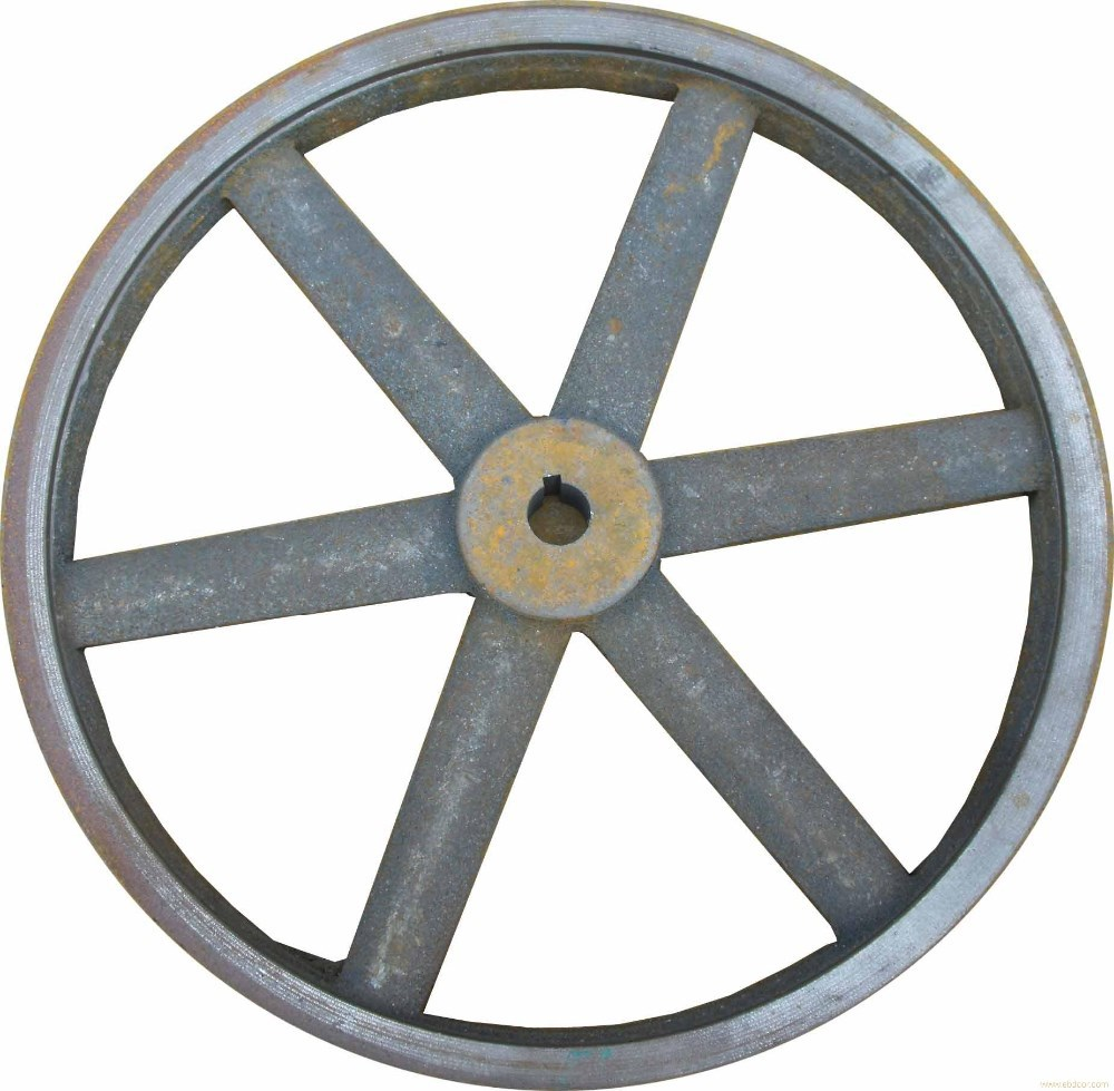Flat Belt Drive Pulley,Free Wheel Pulley,Cast Iron V Pulley Wheel ...