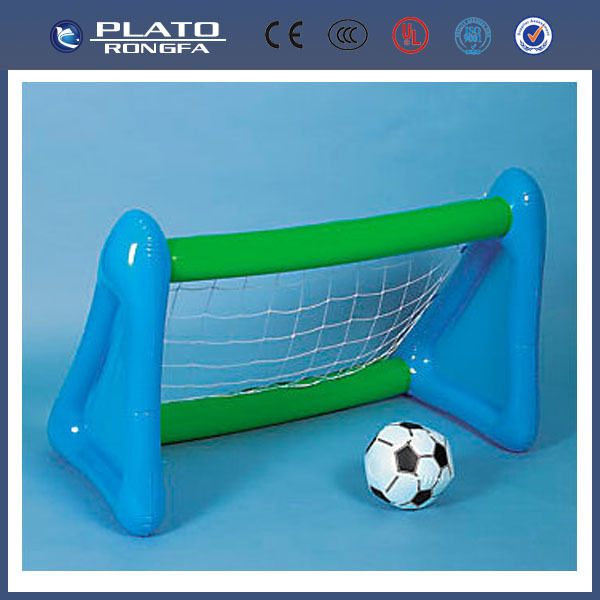 PVC inflatable soccer goal post