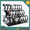 Luxury High Quality Black Acrylic 3 Level Watch Display Stand With C Ring