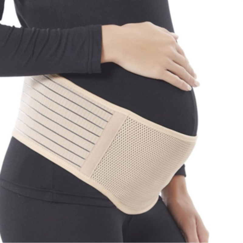 Amazon high quality factory maternity support belt wear pregnancy back brace belly maternity belt band