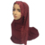 Gorgeous muslim scarves with lace plain soild color hijabs with golden crystal