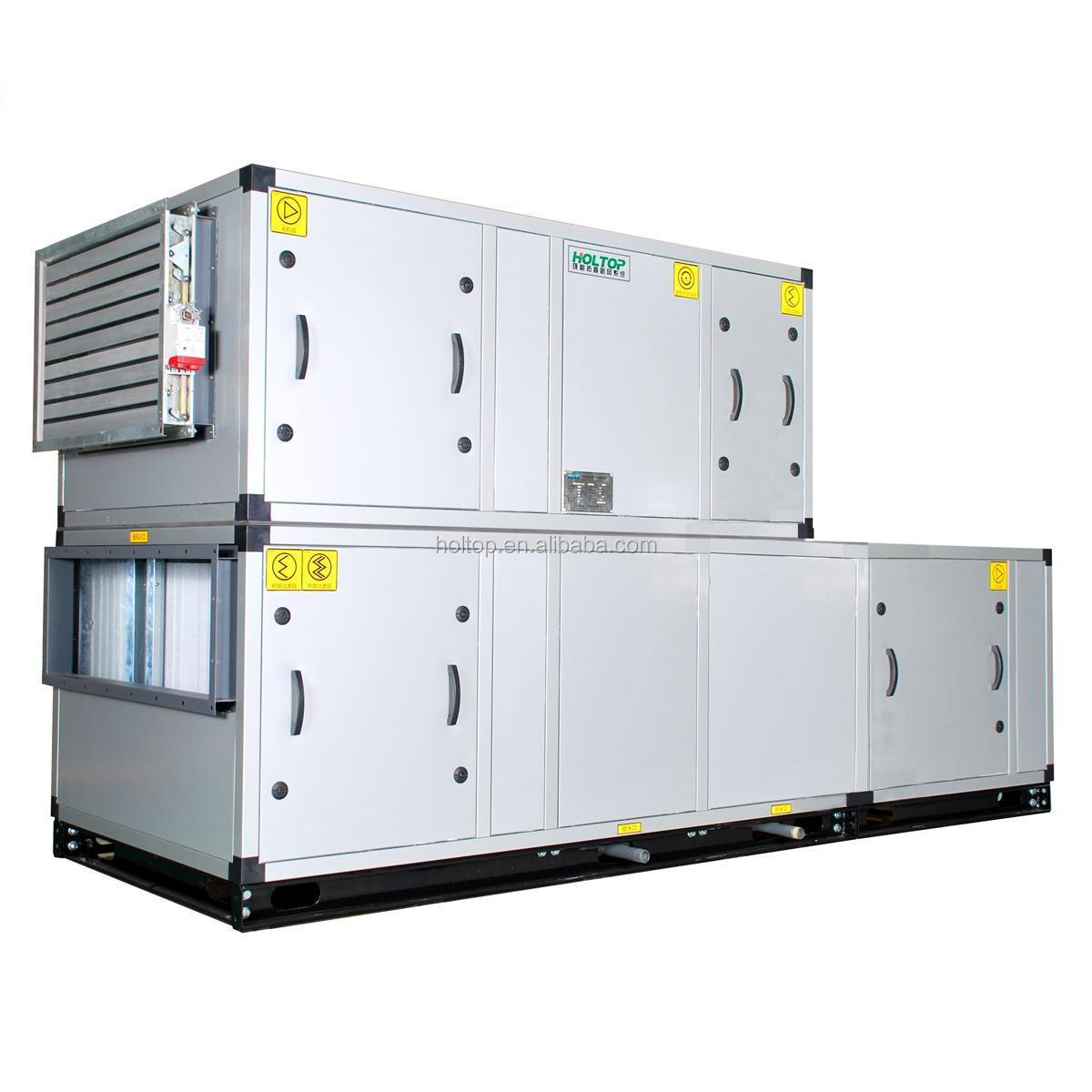 Ceiling Heat Exchanger : Ceiling suspended air handling unit with plate heat