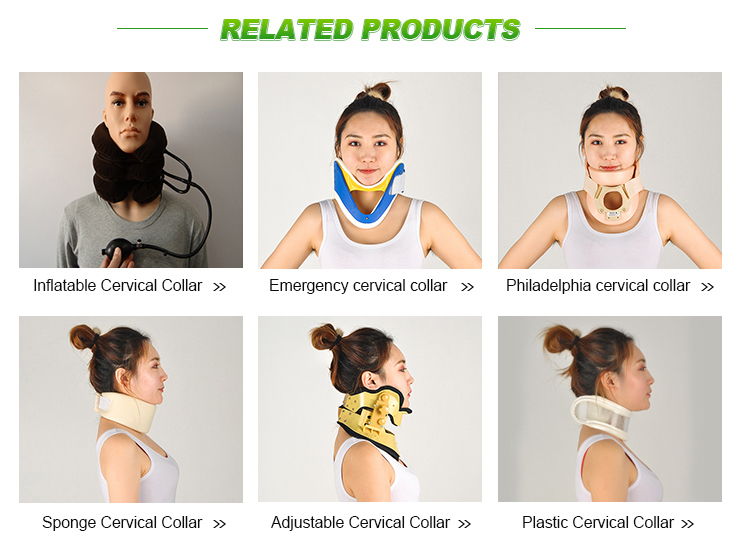 Philadelphia neck collar rigid cervical support collar made in China