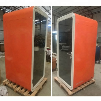 Metal Type Soundproof Office Phone Booth/telephone Booth/meeting Pod For  Provate Office Area