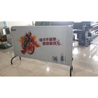 Factory direct price flex fabric banner stand print with best quality
