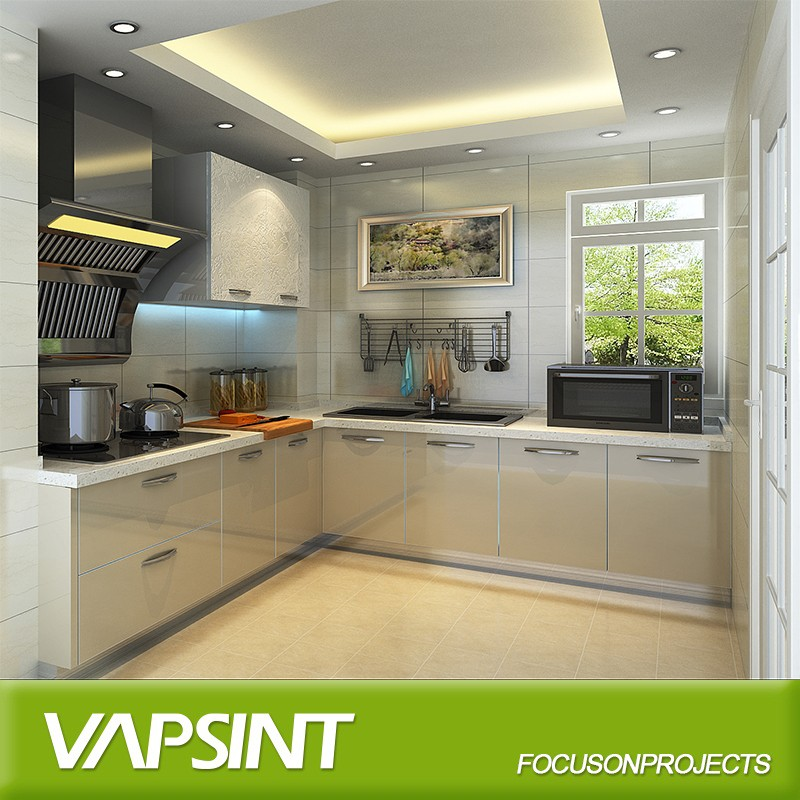 Prefab Modular Home Kitchen Pantry Cabinets Flat Pack