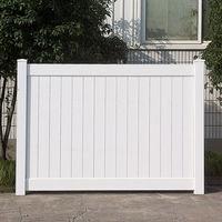 Vinyl Fence / Cheap Vinyl Privacy Fence / White or Tan