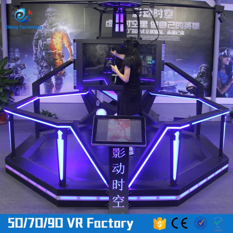 42c812c0128a Easy installation 9d virtual reality cinema machine kat walk vr Safety virtual  reality viewer