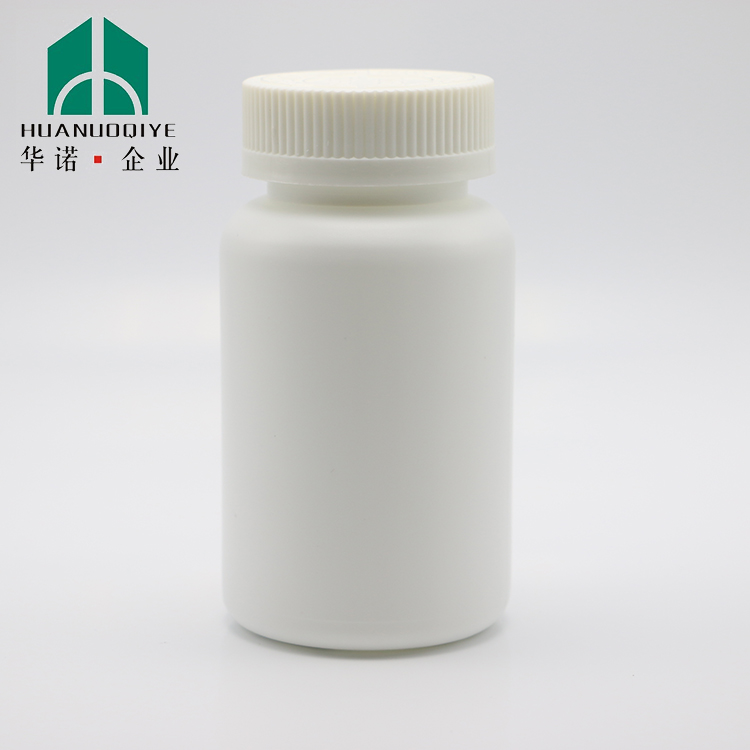 200ml HDPE pill and capsule plastic bottle for pharmaceutical
