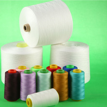 100% Polyester Ring Spun Yarn 50/2 For Sewing Thread End Use