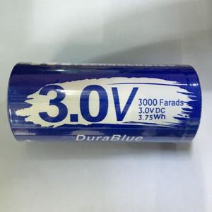 MAXWELL DuraBlue super capacitor 3V 3000F graphene super capacitor car  audio capacitor ultracapacitor battery