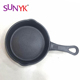 high pressure commercial cooking cast iron frying pan with long handle