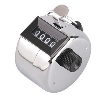 Stock 2019 Hot Wholesale Muslim  Metal 4 Digit Tally Counter