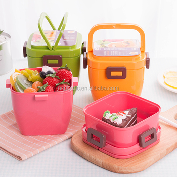 Polar Cool Gear Salad Collapsible Food Container Work School Novo Lunch Case Food Storage with Spoon & Polar Cool Gear Salad Collapsible Food Container Work School Novo ...