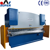 Hydraulic Copper Bending Press Brake 160T Pressure 5000 MM Length