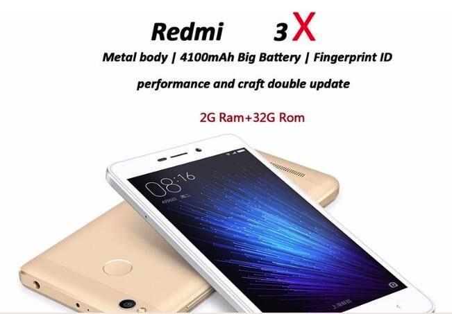 Xiaomi Redmi Red Mi 3x Telefone Celular 441 Ppi 2gb Ram 32gb Rom ...