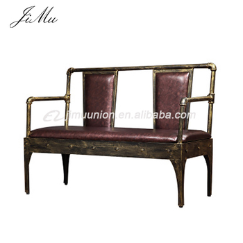 Admirable Customized Commercial Vintage Industrial Style Restaurant Sofa Chair Leather Bench Booth Seating Buy Restaurant Booth Seating Restaurant Sofa Pdpeps Interior Chair Design Pdpepsorg