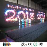 P10 Semi-Outdoor RGB Commercial Advertising LED Displays with move message