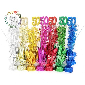 Sinno 50th Birthday Table Centerpieces Wedding Anniversary Party Favors