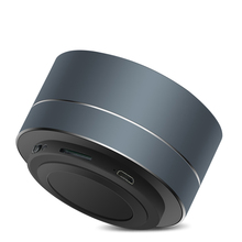 LED Licht Mini Draagbare Draadloze Subwoofer Ondersteuning <span class=keywords><strong>FM</strong></span> TF Card Bluetooth Speaker
