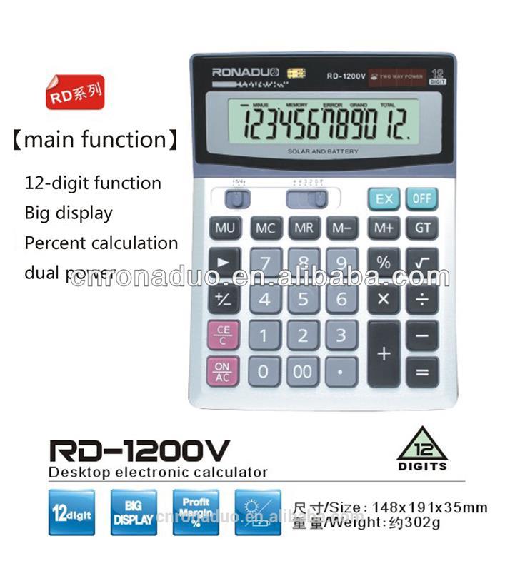 Calculator With Metallic Wholesale, Calculator With Suppliers - Alibaba