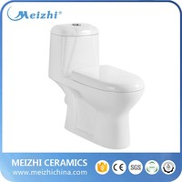 Ceramic washdown p-trap toilet sanitaryware